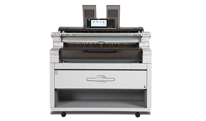 Lanier MP W6700 wide format plotter